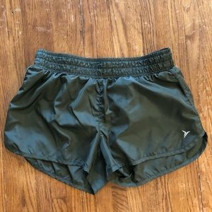 Olive Running Shorts by Old Navy